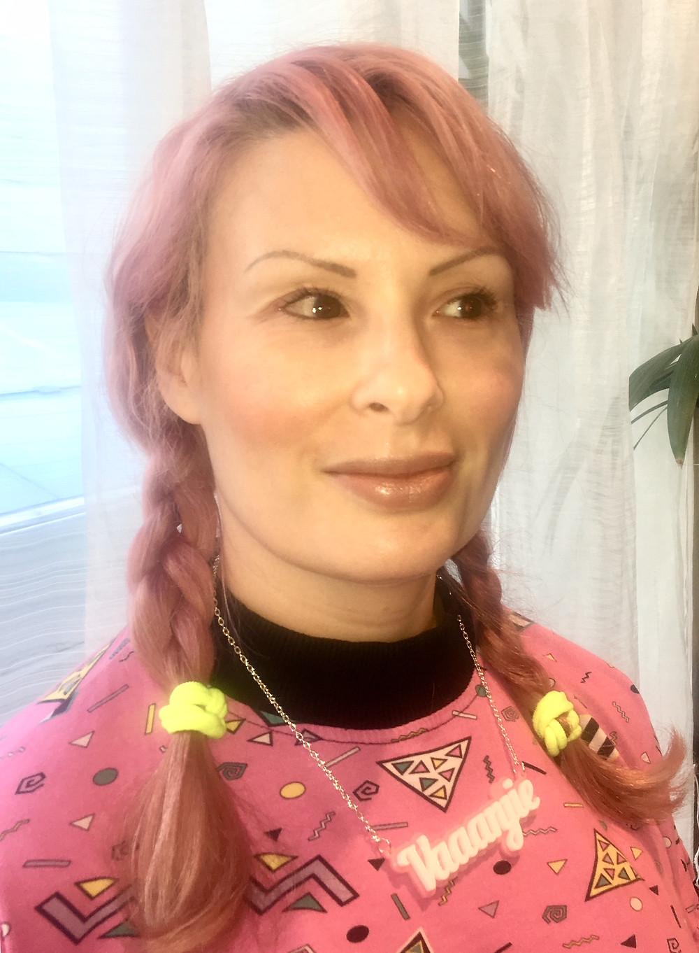 Nikki after makeover by Emma using V Lace Maya Palette