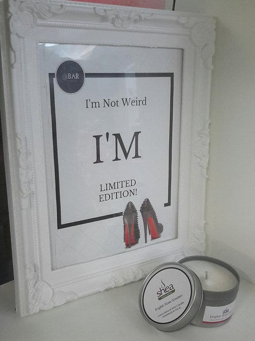 I'M Limited Edition Print