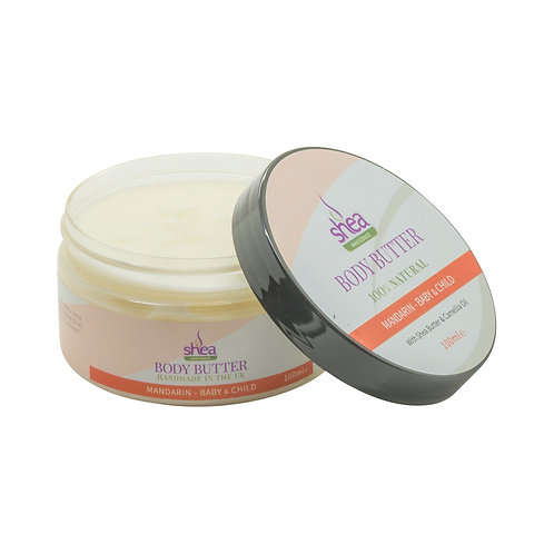 Mandarin Body Butter – Little Ones