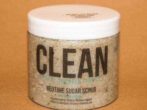 Clean Bedtime Sugar Scrub