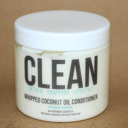 Clean Peppermint Whipped Coconut Oil Conditioner