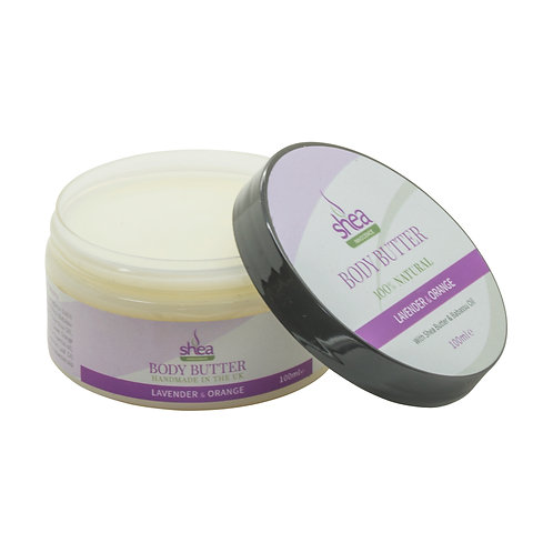 Nourishing Body Butter with Lavender & Orange