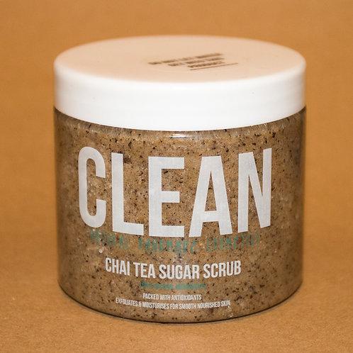 Clean Chai Tea Sugar Scrub