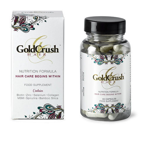 Goldcrush Hair Nutrition Vitamins