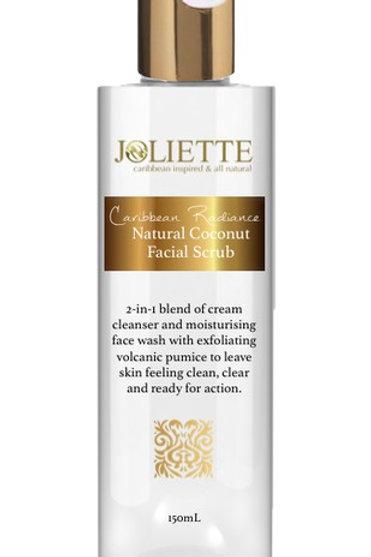 Joliette Caribbean Radiance Facial Scrub