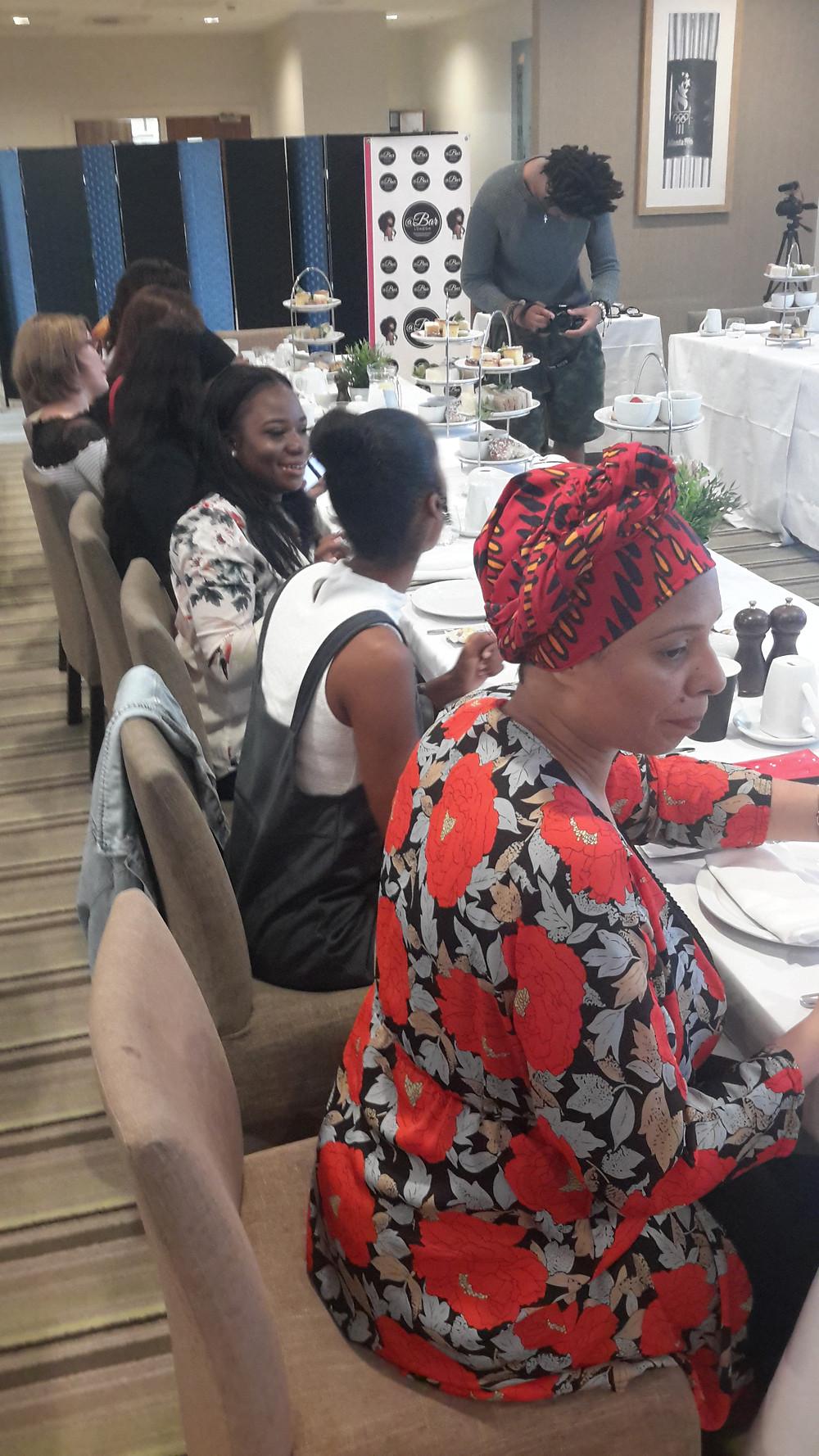 Ladies having Afternoon Tea Makeup Masterclass