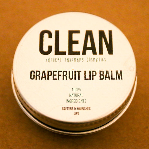 Clean Grapefruit Lip Balm