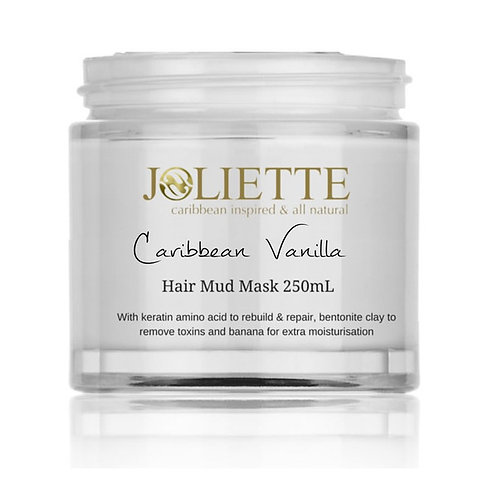 Joliette Caribbean Vanilla Bentonite Clay Mud Mask