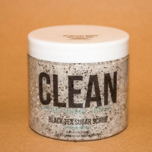 Clean Black Tea Sugar Scrub