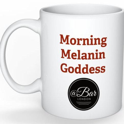 Morning Melanin Goddess Coffee Mug