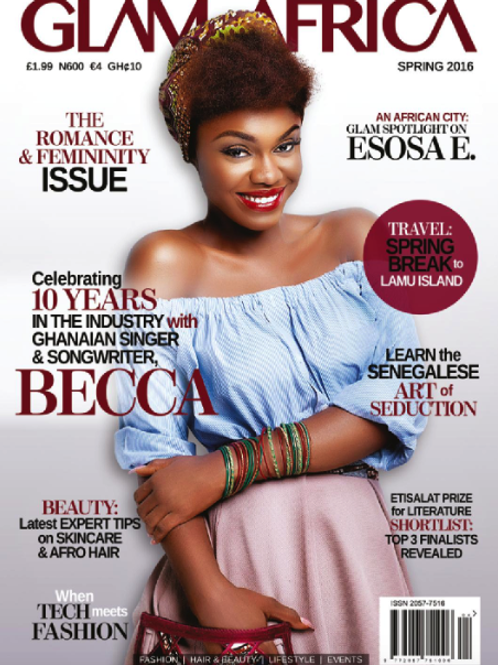 Glam Africa Magazine Spring 2016 Edition