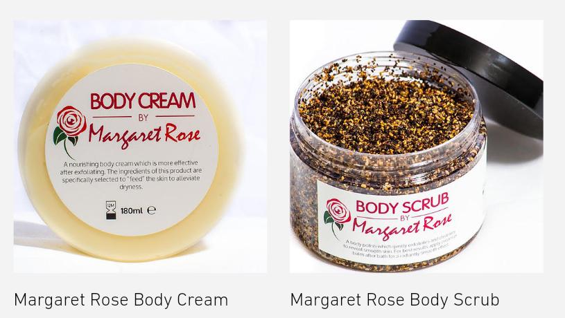 Margaret Rose Body Scrub