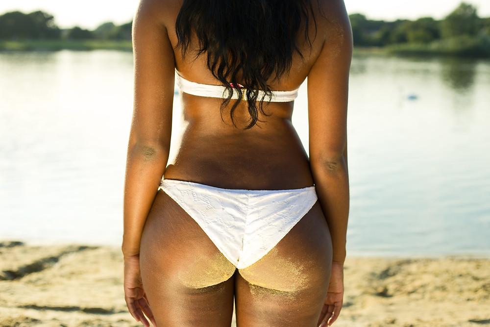 Brown Beauty on Beach