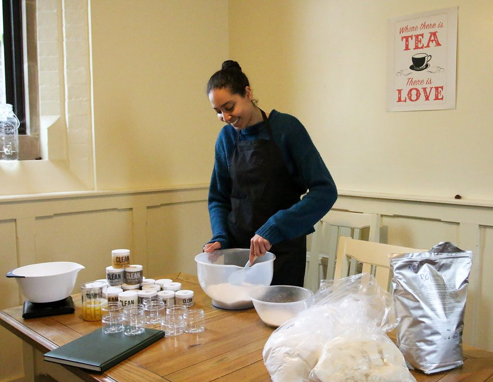 Naomi Producing CLEAN Products