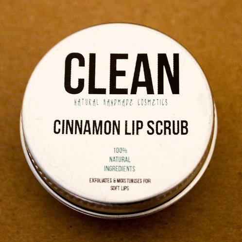 Clean Cinnamon Lip Scrub