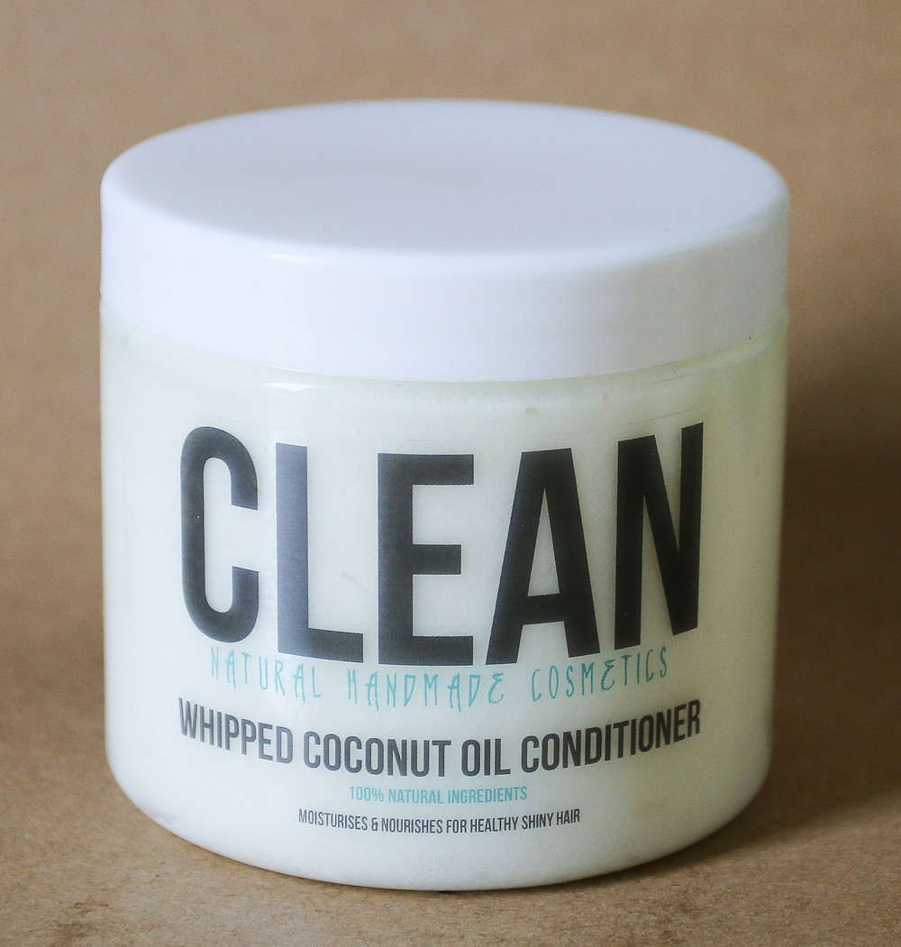 Clean Simple Whipped Coconut Oil Conditioner