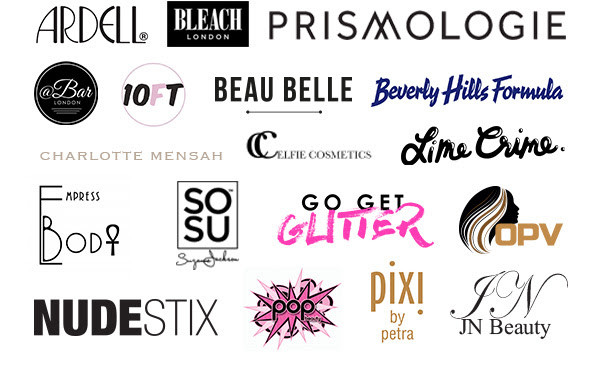 Brands Included in Pop & Suki Carryall Bag