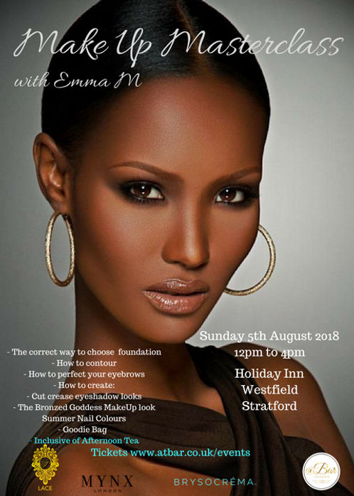 Make Up Masterclass With Emma M Beauty Curated For Dark Skin