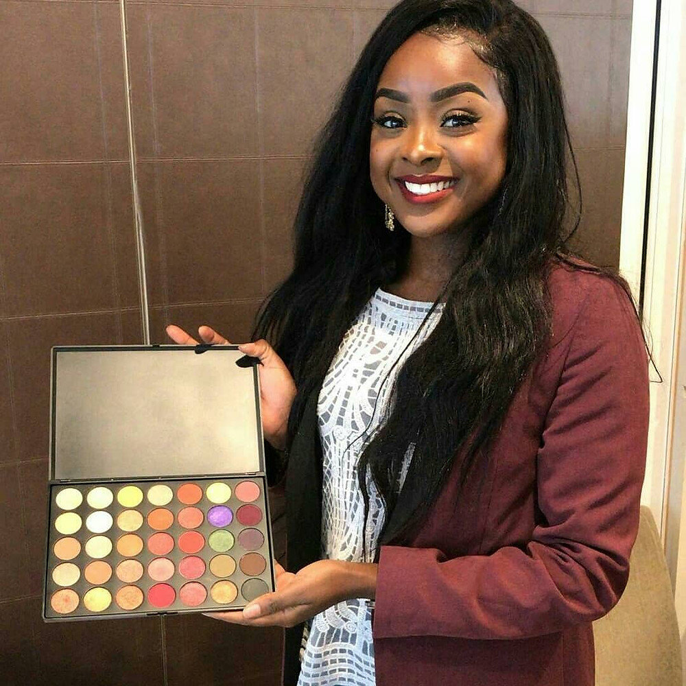 Vanessa Brobbey Founder V Lace Cosmetics
