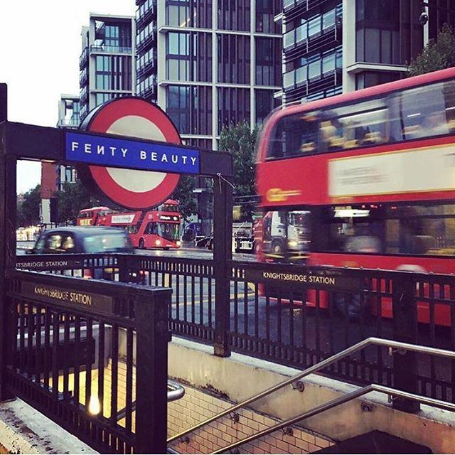Fenty Beauty Knightsbridge Station
