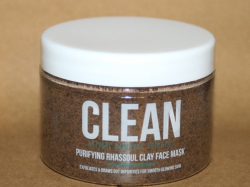 Clean Simple Purifying Rhassoul Clay Face Mask