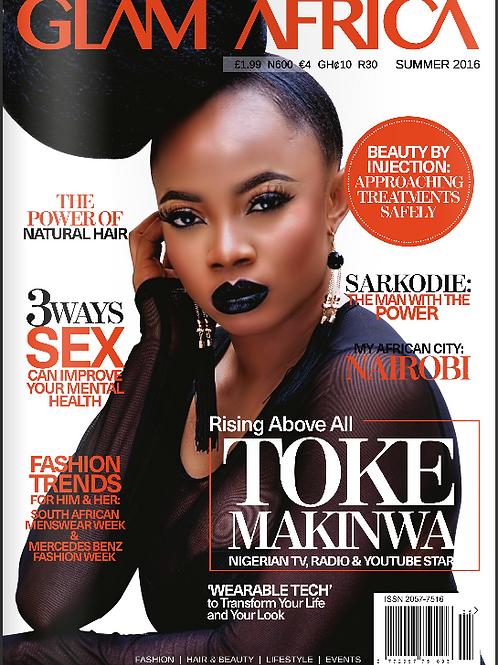 Glam Africa Magazine Summer 2016 Edition