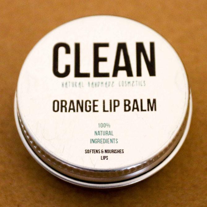CLEAN Orange Lip Balm