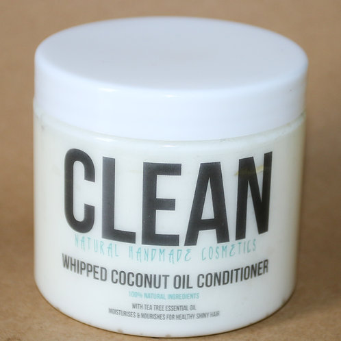 Clean Tea Tree  Whipped Coconut Oil Conditioner