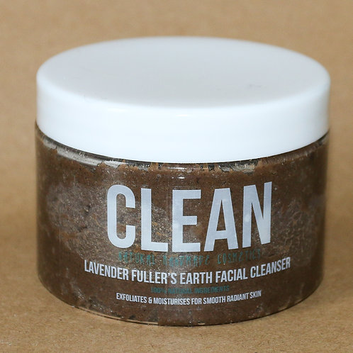 Clean Lavender Fullers Earth Facial Cleanser
