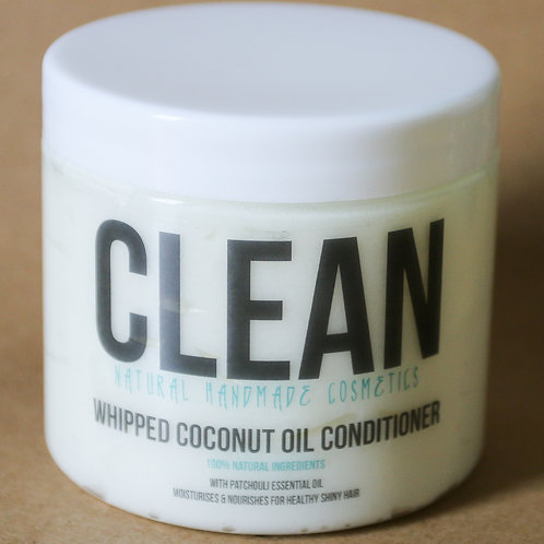 Clean Patchouli Whipped Coconut Oil Conditioner