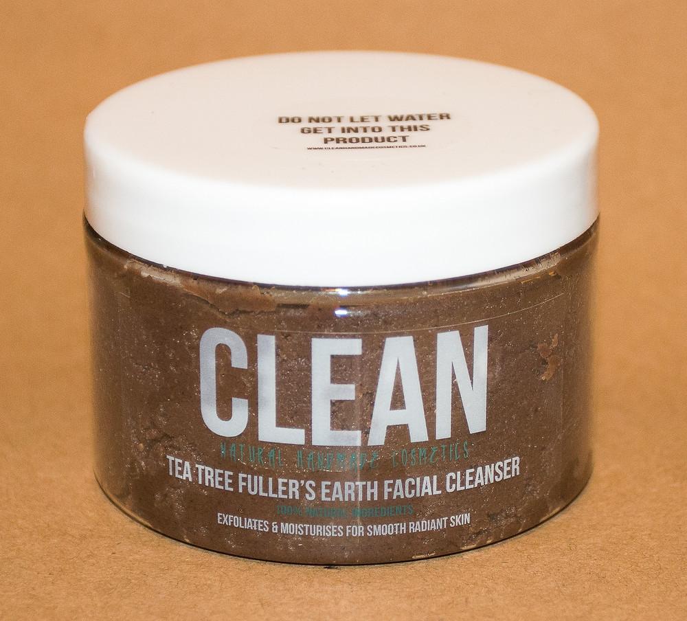 CLEAN Tea Tree Fullers Earth Facial Cleanser