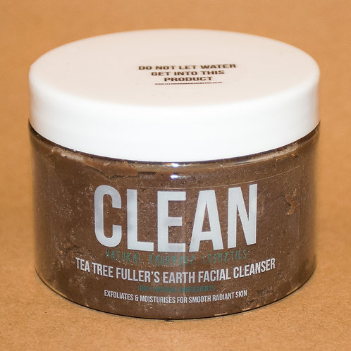 Clean Tea Tree Fullers Earth Facial Cleanser