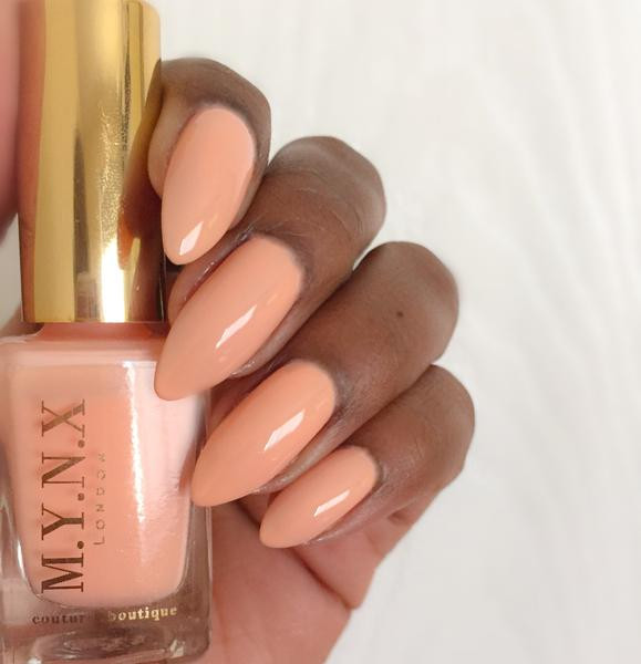 Peach Creme Nail Polish MYNX London