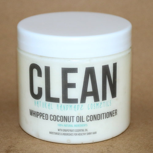 Clean Grapefruit Whipped Coconut Oil Conditioner
