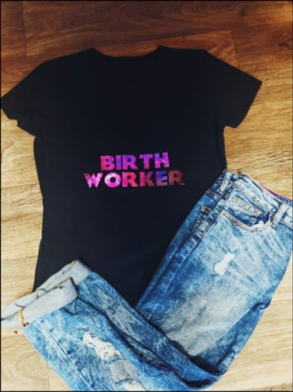 Cosmic Birth WorkerShirt