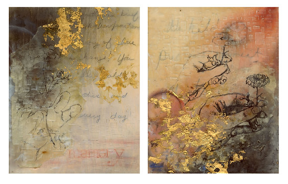 Patterns of Change (diptych)