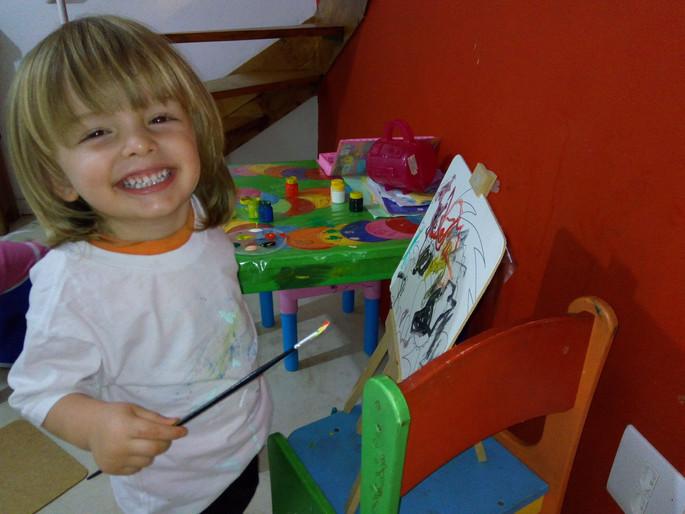 Música da criança e a relação com a expressão gráfica infantil. Por que valorizamos as garatujas das