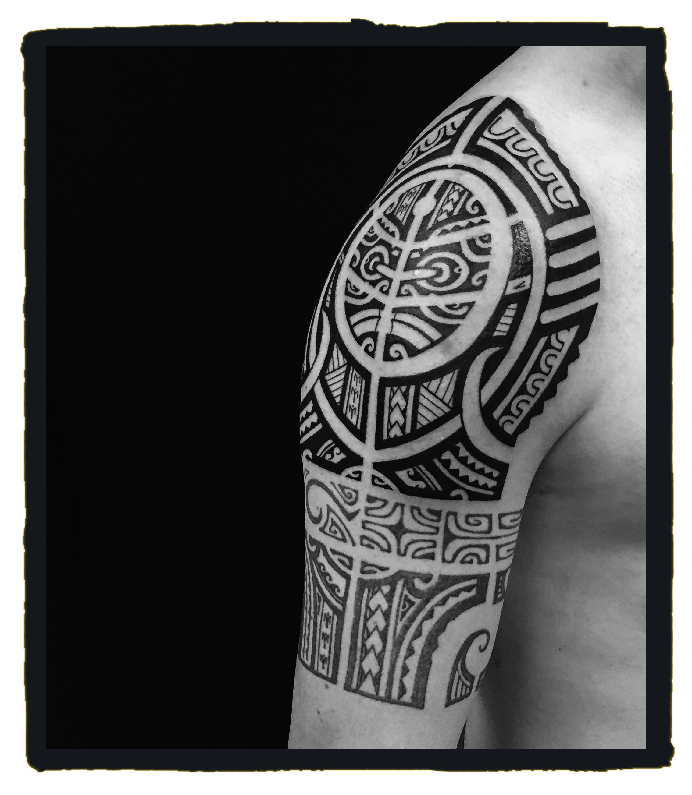 Local Boy Tatau - Ricky - Shoulder 4