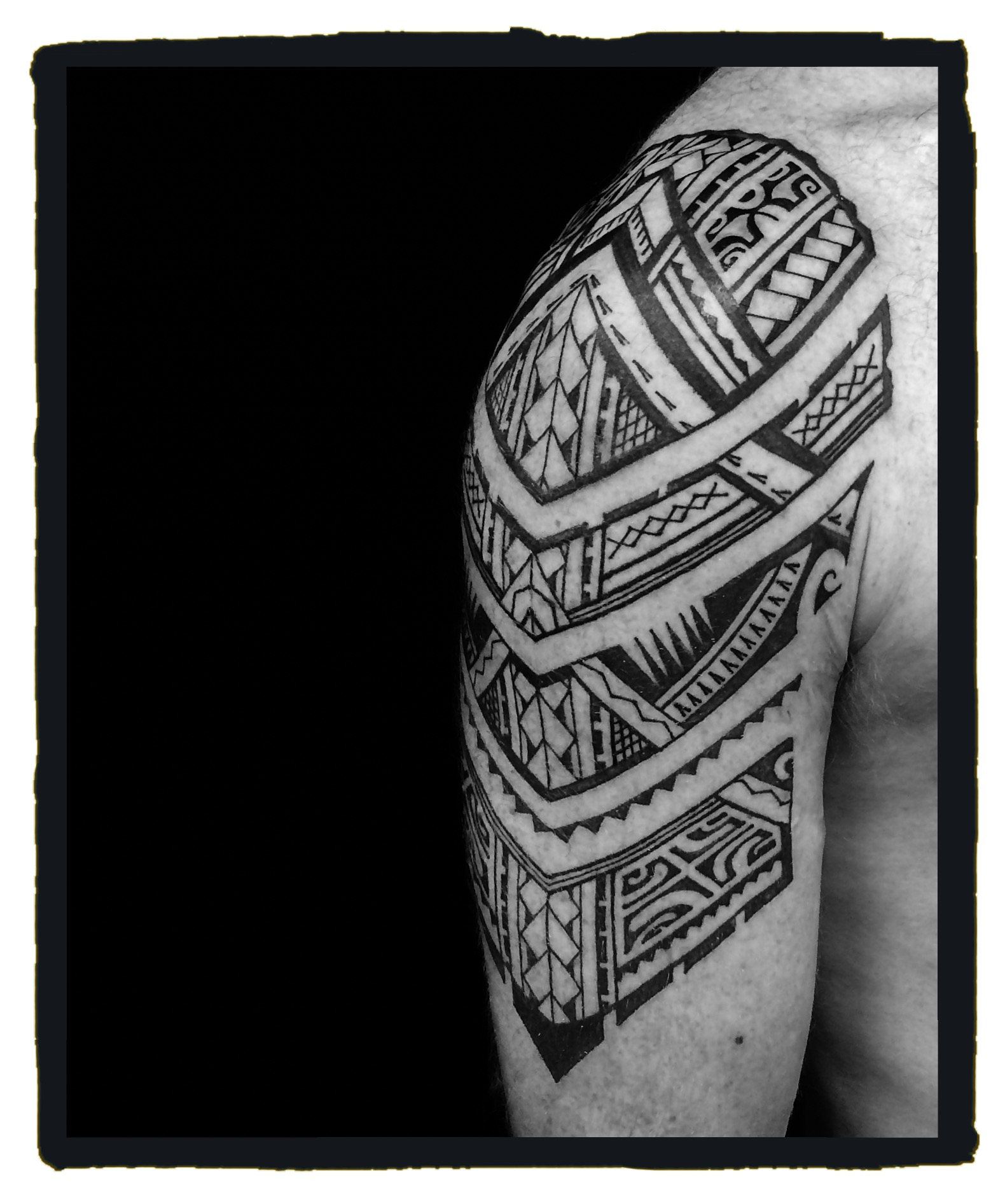 Local Boy Tatau - Ricky - Shoulder