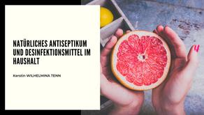 Natürliches Antiseptikum und Desinfektionsmittel im Haushalt.
