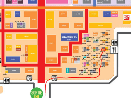 Plan pour la Japan Expo