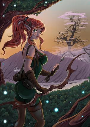 The Elf Archer