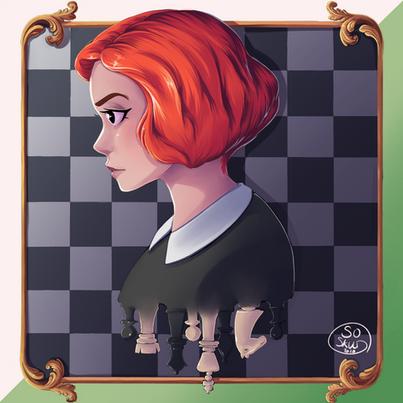 The Queen's Gambit fanart