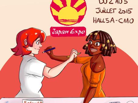 L'affiche pour Japan Expo!