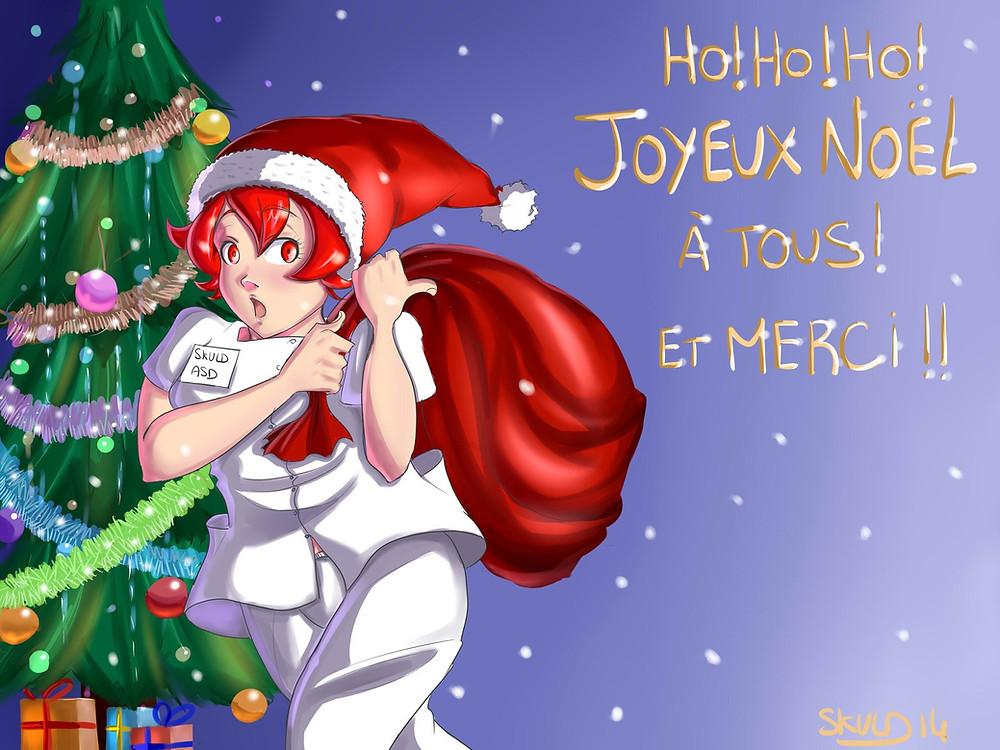 Dessin spécial Noël 2014