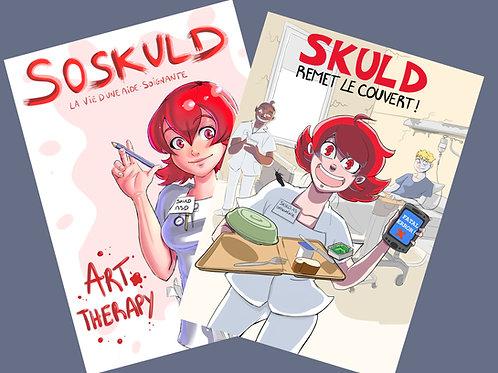 Bundle BD Art Therapy + Skuld Remet le Couvert