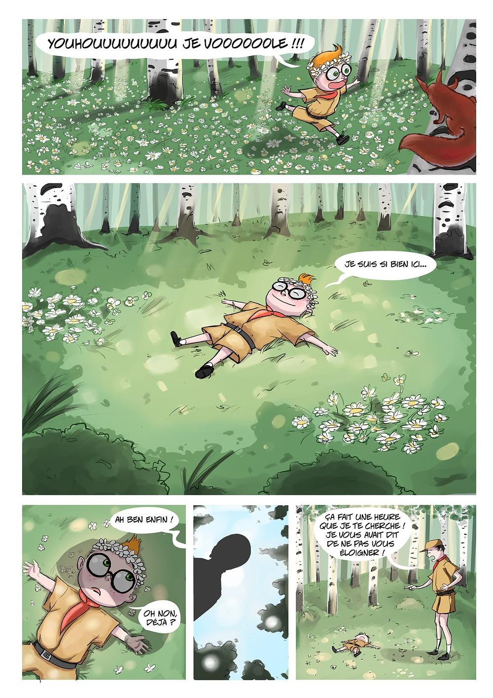La Forêt (scénario par LüllE et dessin par Soskuld)