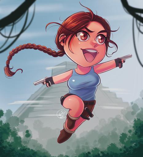 Chibi Lara Croft
