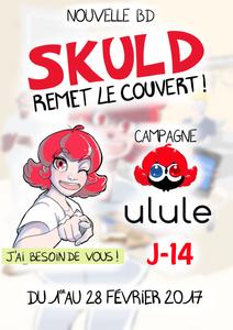 """Campagne Ulule """"Skuld Remet le Couvert"""", J-14 !!"""