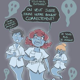 Grévistes Fantômes